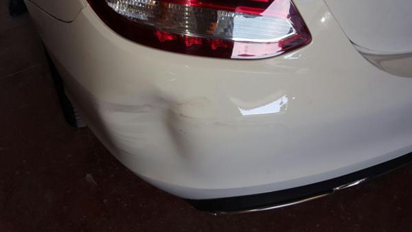הרכב לפני תיקון פחחות
